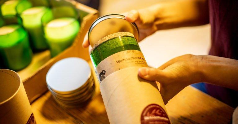Nachhaltige Produkte innen wie außen