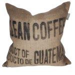 Kissen aus Kaffee-Säcken